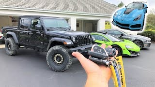 What I've Been HIDING From You About My New Gladiator + What Car I'm Selling For The C8!!!