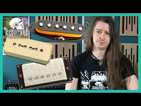 Single Coil vs P90 vs Humbucker: What's The Difference?