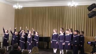 """Смотрите! -  детский хоровой ансамбль """"На Фонтанке"""" 2018-12-16"""