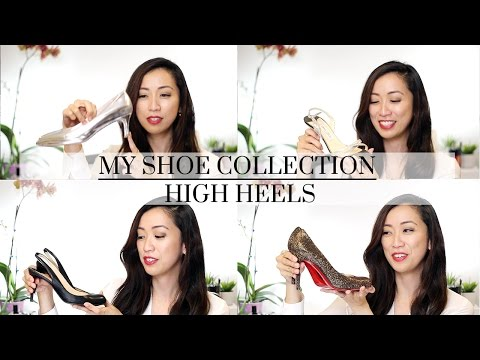 Shoe Collection – Designer High Heels ft. Christian Louboutin, Gucci, Valentino & More!
