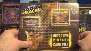Opening a Detective Pikachu Case File! (Pokemon TCG)
