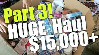 Part 3 | HUGE $15,000+ Pallet Liquidation Unboxing! HBA Customer Returns