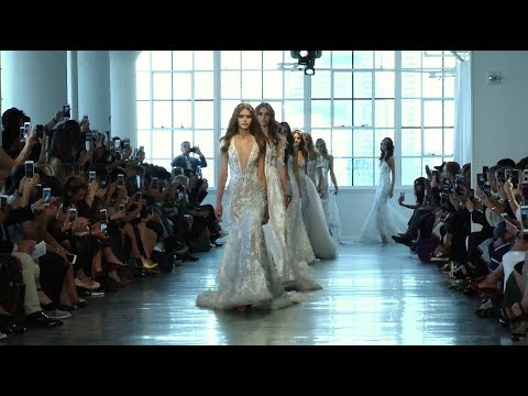 BERTA FW 2018 Bridal Couture Runway Show