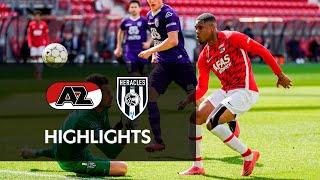 Highlights AZ - Heracles Almelo | Eredivisie