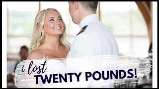 WEDDING WEIGHT LOSS // I LOST 20 POUNDS