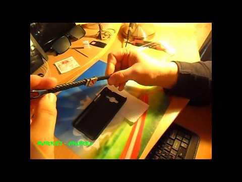 Кожаный браслет Dotas 2 и бампер для Samsung Galaxy Core 2 Duos SM G355H