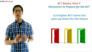 ACT Test Prep Strategies, Part 1 - Just How Important Is Your ACT Score?