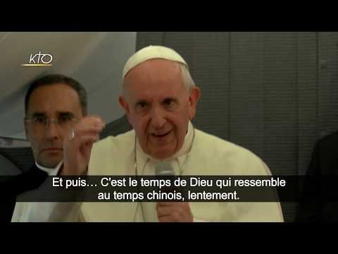 Accord Chine-Vatican : l'explication du pape François