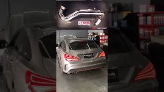 Mercedes x117 CLA45 M133 x STONE EXHAUST