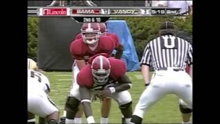 2007 Alabama vs. Vanderbilt Highlights
