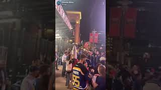 Downtown After Blues Win Their First Ever Stanley Cup Championship