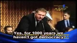 Очень крутой ролик о Жириновском