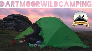Doe Tor - Dartmoor Solo Wild Camping - Naturehike Star River 2
