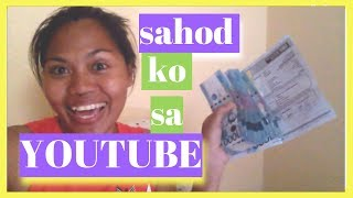 MAGKANO SWELDO SA YOUTUBE Earning MONEY ON YOUTUBE -| Helmz Jordan