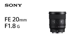 YouTube Video Vm-KcmAOz_Y for Product Sony FE 20mm F1.8 G Lens (SEL20F18G) by Company Sony Electronics in Industry Lenses