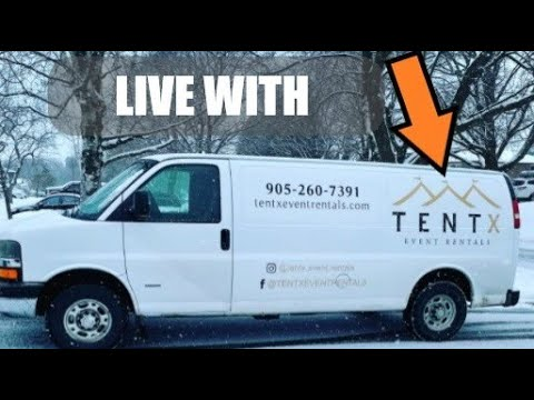Live With TENTX - New Event Business Owner