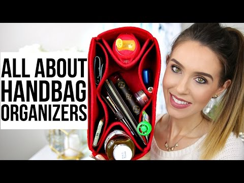 HANDBAG ORGANIZER COMPARISON & REVIEW | Samorga vs. Original Club | Shea Whitney
