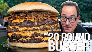 20 POUND BACON CHEESEBURGER - 2 MILLION SUBSCRIBER SPECIAL | SAM THE COOKING GUY 4K