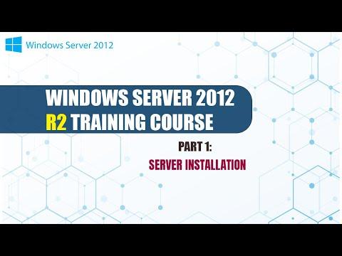 Windows Server 2012 R2 Training Part1 Server Installation - YouTube