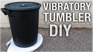 DIY Vibratory Tumbler | Cleaning And Stonewash Finish On The Cheap!