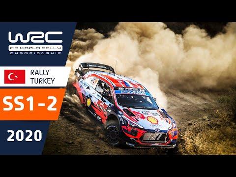 WRC ラリー・ターキー(トルコ)。SS1ーSS2の様子をダイジェストで楽しめるハイライト動画