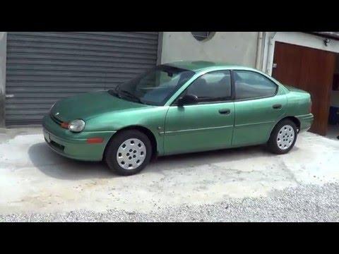 Фото к видео: Os Neo Colecionáveis - Episódio 4 - Chrysler Neon 1998