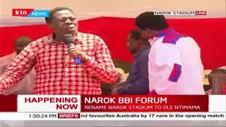 Eugene Wamalwa\'s sentiments during NAROK BBI FORUM