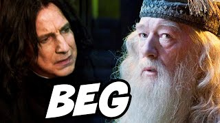 What Did Dumbledore Want In Return From Snape? - Harry Potter Explained