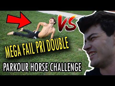 Parkour HORSE challenge - MEGA FAIL pri DOUBLE FULL