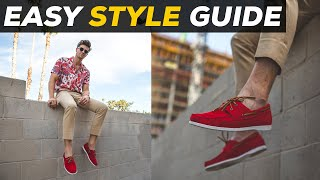 How To Style Boat Shoes | 4 Ways | Parker York Smith