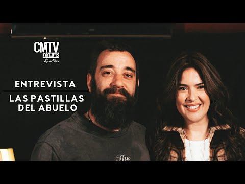 Las Pastillas del Abuelo video Entrevista 2021 - CMTV Acústico 2021