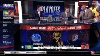 [BREAKING NEWS] Stephen Curry leads Warriors beat Trail Blazers 110-99 in Game 3 | POSTGAME REPORT