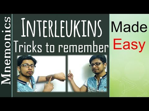 Interleukin mnemonics tricks to remember