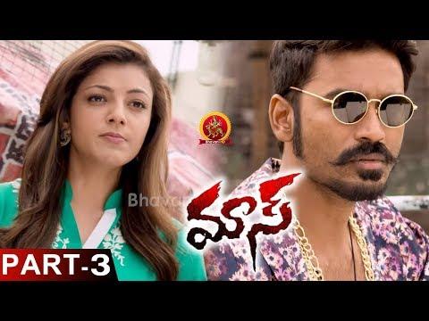 Download Dhanush Maas (Maari) Movie Part 3 - Latest Full Movies - Dhanush, Kajal HD Mp4 3GP Video and MP3