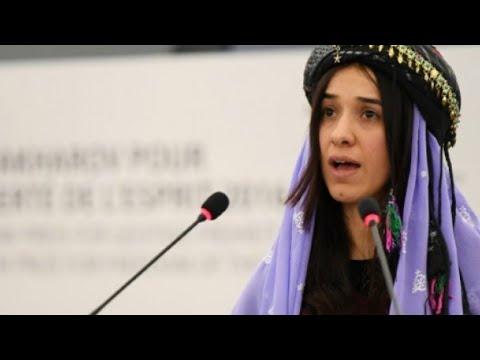 العرب اليوم - العراقية الإيزيدية ناديا مراد من حياة الاستعباد إلى نيل جائزة