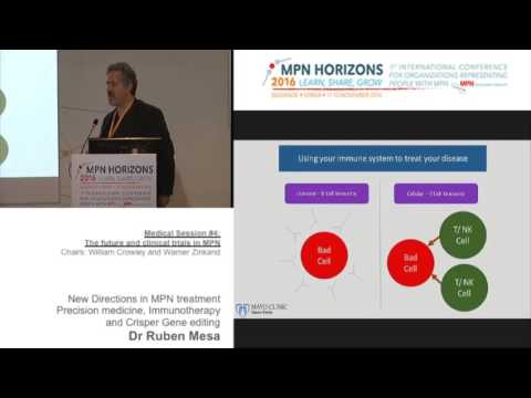 Medical session #4: New directions in MPN management
