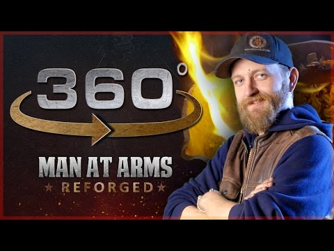 Man At Arms: Reforged Answers Your Questions Part 1  In 360 !