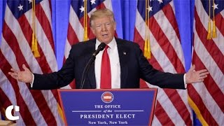 Donald Trump attacks Media in his First Press Conference as President-Elect