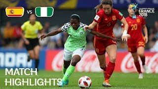 Spain v Nigeria – FIFA U-20 Women's World Cup France 2018 – Match 26