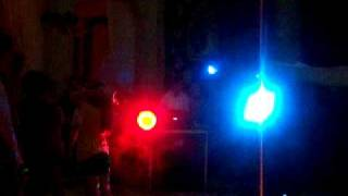Magic Marker Music Party DJ Light Show with Florida LOW playing
