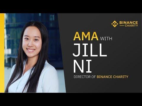 #Binance AMA With Director Of Binance Charity, Jill Ni, Live from Uganda!