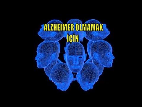 ALZHEIMER'DAN KORUNMAK ICIN NE YAPMALI  ? (Alzheimer Nasıl Olusur )
