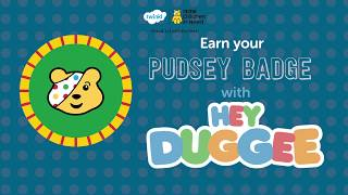 Earn your Pudsey Badge!