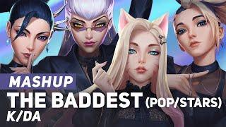 "K/DA - ""The Baddest + POP/STARS"" Mashup | League of Legends | AmaLee"