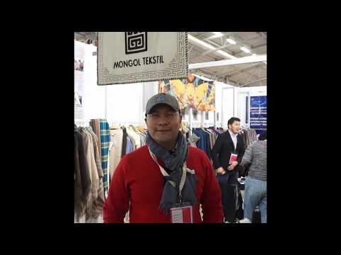 Greetings from Apparel Source Paris 2020  - Mr. Enkhbold (Mongol Textile LLC)