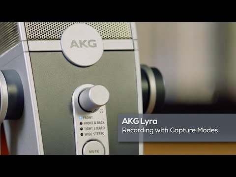 AKG Lyra: Recording with Capture Modes