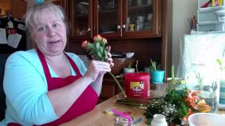 Waste Not Wednesday - How To Root Roses From A Bouquet