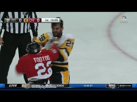 Jordin Tootoo vs. Tom Sestito
