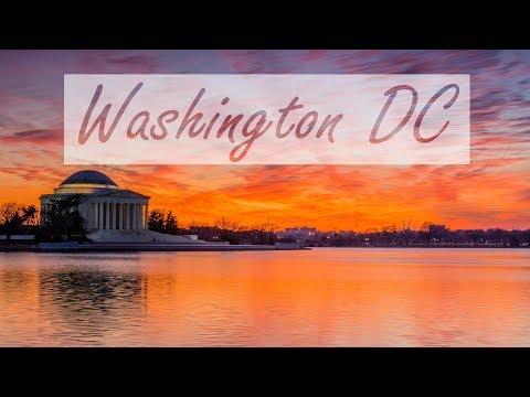 סרטון שמציג לראווה את האתרים היפים ביותר בוושינגטון די.סי