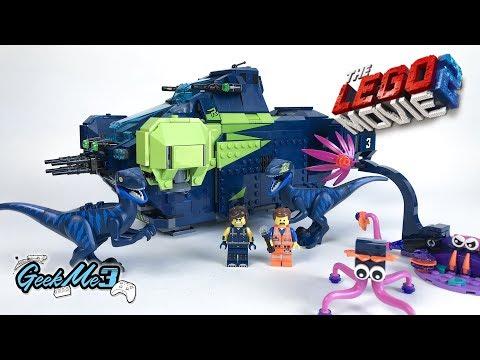 Vidéo LEGO The LEGO Movie 70835 : Le Rexplorer de Rex
